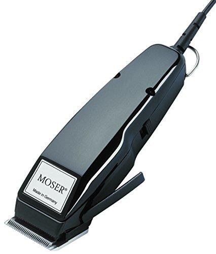 Moser 1400 - Tosatrice per peli di animali, set conchiglia