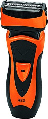 AEG HR 5626 - Rasoio elettrico, nero e arancione