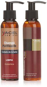 Balsamo e shampoo Yacel For Men