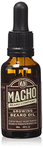 Olio da barba Macho Growing - 30 ml