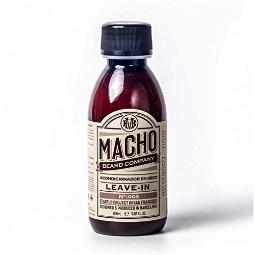Macho Beard Company Leave In Conditioner for Beard Facial Treatment - 150 ml