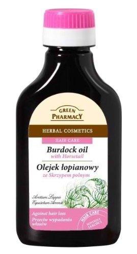Hair Loss Oil, stimolatore della crescita a base di Radice di Bardana ed Equiseto 100 ml Green Pharmacy