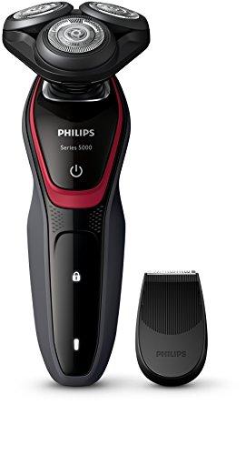 Philips S5130 / 06 Rasoio elettrico da uomo serie 5000 con rifinitore di precisione SmartClick (presa per WC a 2 pin)