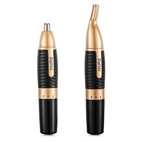 Taglia-naso da uomo Taglia-naso Taglia-capelli 2-in-1 Regolabarba per sopracciglia a batteria