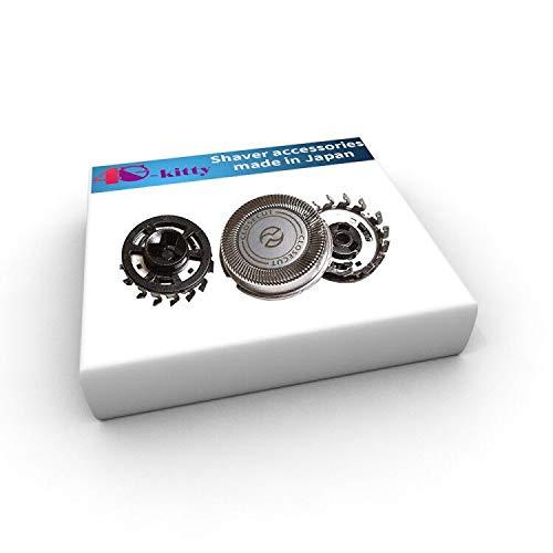 Testina di ricambio SH30 / 52 per rasoi serie 1000, 2000, 3000 e s738 click and style per Philips Norelco