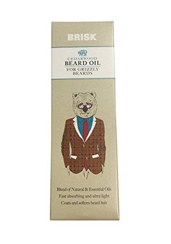 Olio da barba in legno di cedro vivace 50 ml