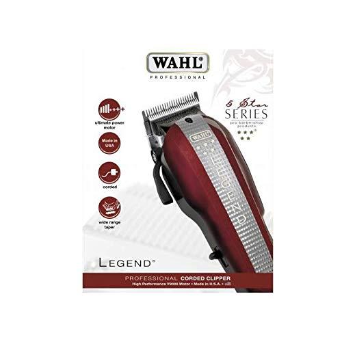 Tagliacapelli Wahl Legend, larghezza di taglio: 40 mm, rosso