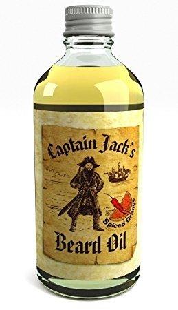 Captain Jack's Beard Oil Captain Jack Beard Oil Conditioner 100ml Special Limited Edition Spiced Orange Fragrance (Spiced Orange)