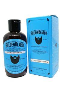 Grooming del balsamo della barba dorata