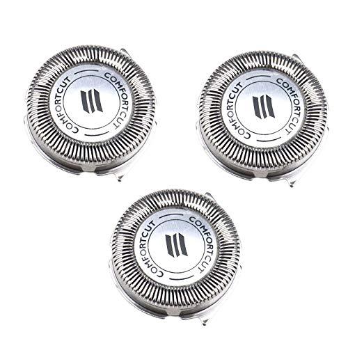 OTOTEC SH30 / 52 - Lame di ricambio per testina rasoio Philips Norelco serie 3000 2000 1000 S738 (3 unità)