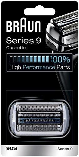 Ricarica per rasoio elettrico Braun 90S, compatibile con i rasoi della serie 9, argento