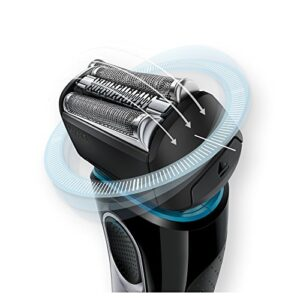materiali del rasoio elettrico Braun Series 5 5147s